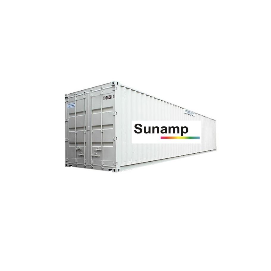 Tepelná batéria v kontajnerovom vyhotovení